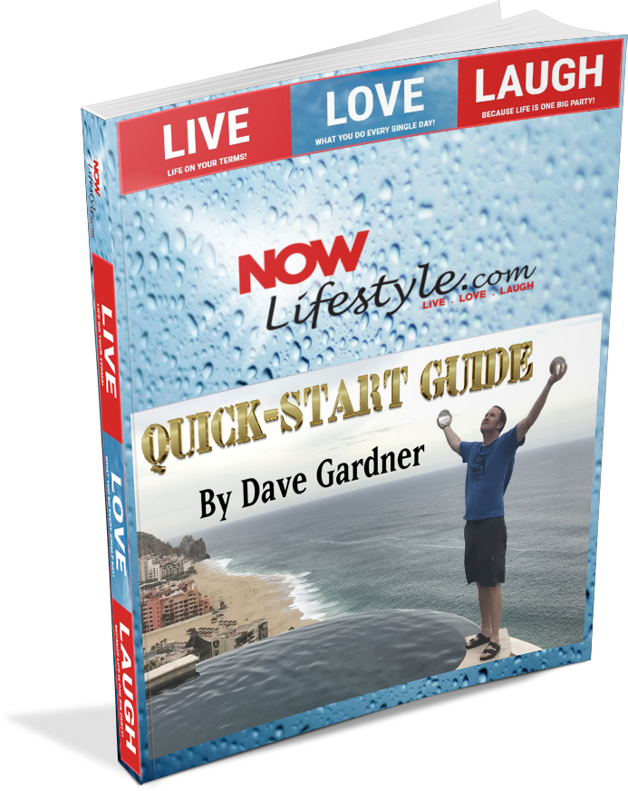 Now Lifestyle Quick Start Guide By Dave Gardner
