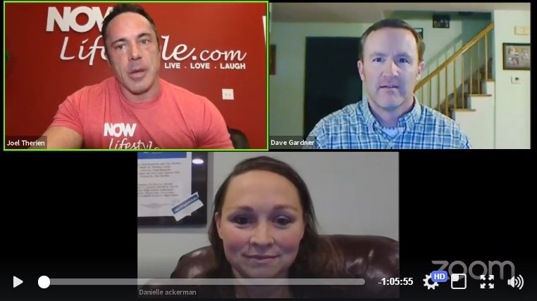 Now Lifestyle Live webinar with Joel Therien, Davei Gardner and Danielle Ackerman